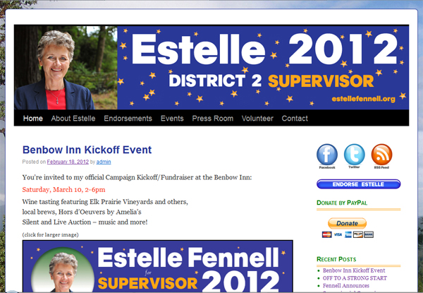 Estelle Fennell - 2nd district supervisor Humboldt County