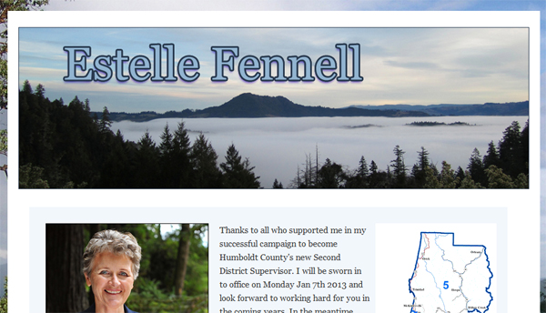 Estelle Fennell - Humboldt County's 2nd District Supervisor