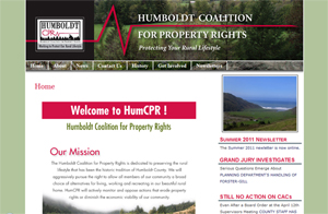 HumCPR.org - Humboldt Coalition for Property Rights